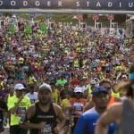 Участники марафона в Лос-Анджелесе пострадали от жары
