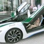 Дубайские полицейские разжились BMW i8