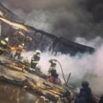 В Казани при пожаре в торговом центре пострадали 28 человек