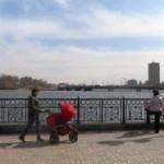 Донецк мирный и прифронтовой