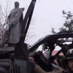 "Комбат ""Азова"" врезался в памятник героям ВОВ и погиб"