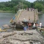 Украинские силовики признали, что взорвали мост на границе с ЛНР