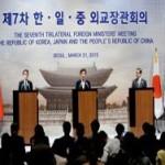 О трёхсторонней министерской встрече в Сеуле