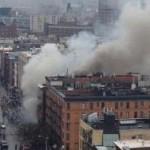Десятки людей пострадали при взрыве здания на Манхэттене