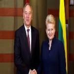 Прощальный поклон: Берзиньш выступил против Грибаускайте
