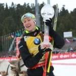 Дарья Домрачева выиграла Большой Хрустальный глобус