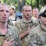 Из Киева в Донбасс отправилась новая партия военных