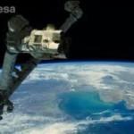 Российские космонавты с МКС снимают военные действия в Донбассе