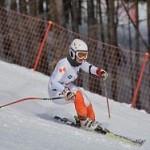 Москвичка взяла серебро на детских соревнованиях горнолыжников