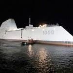 Американский эсминец невидимка задерживается на год