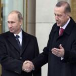 """Путин и Эрдоган обсудили """"Турецкий поток"""""""