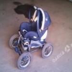 В Одессе пропала коляска с младенцем
