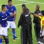 В Бразилии полицейские арестовали футболиста прямо на поле