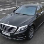 """Тест-драйв гибрида Mercedes-Benz S 500: круче """"Майбаха"""""""