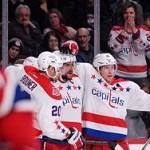 Клуб Овечкина вышел в плей-офф НХЛ