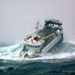 53 моряка погибли при крушении траулера в Охотском море