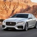 В Нью-Йорке показали экономичный седан Jaguar XF