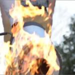 Американские студенты разработали звуковой огнетушитель