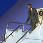 """Обама прибыл в Панаму для участия в """"Саммите Америк"""""""