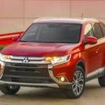 Mitsubishi Outlander стал первым с новым дизайном