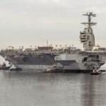 """В США заложат второй авианосец класса """"Форд"""" в мае"""