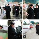Ким Чен Ын лично испытал новый самолет