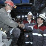 Медведев поздравил шахтеров с праздником